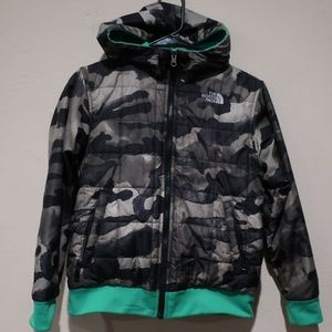 The North Face Reversible Jacket Boys sz M 10/ 12